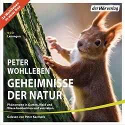 Geheimnisse der Natur von Kaempfe,  Peter, Wohlleben,  Peter