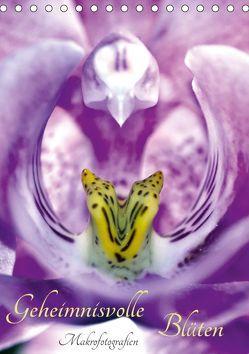 Geheimnisvolle Blüten Makrofotografien (Tischkalender 2019 DIN A5 hoch) von Marten,  Martina