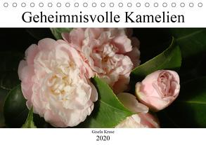 Geheimnisvolle Kamelien (Tischkalender 2020 DIN A5 quer) von Kruse,  Gisela