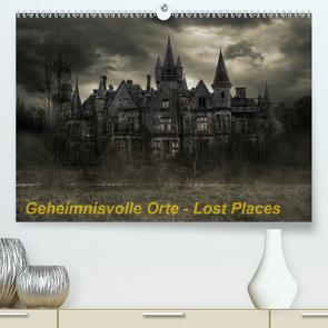 Geheimnisvolle Orte – Lost Places (Premium, hochwertiger DIN A2 Wandkalender 2020, Kunstdruck in Hochglanz) von Swierczyna,  Eleonore