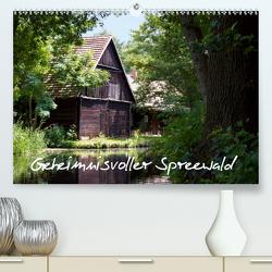 Geheimnisvoller Spreewald (Premium, hochwertiger DIN A2 Wandkalender 2021, Kunstdruck in Hochglanz) von Rix,  Veronika