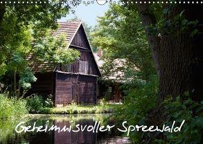 Geheimnisvoller Spreewald (Wandkalender 2018 DIN A3 quer) von Rix,  Veronika