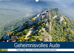 Geheimnisvolles Aude (Wandkalender 2019 DIN A3 quer) von Voigt,  Tanja