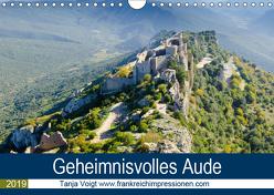 Geheimnisvolles Aude (Wandkalender 2019 DIN A4 quer) von Voigt,  Tanja