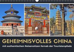 Geheimnisvolles China 2020 (Wandkalender 2020 DIN A3 quer) von Berndt,  Stefan