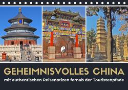 Geheimnisvolles China 2021 (Tischkalender 2021 DIN A5 quer) von Berndt,  Stefan