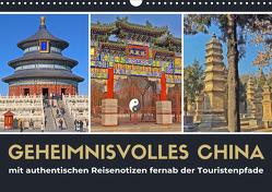 Geheimnisvolles China 2021 (Wandkalender 2021 DIN A3 quer) von Berndt,  Stefan