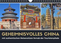 Geheimnisvolles China 2021 (Wandkalender 2021 DIN A4 quer) von Berndt,  Stefan