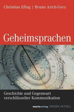 Geheimsprachen von Arich-Gerz,  Bruno, Efing,  Christian