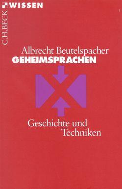 Geheimsprachen von Best,  Andrea, Beutelspacher,  Albrecht