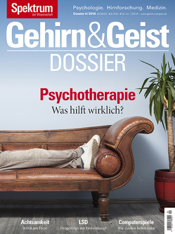 Gehirn&Geist Dossier – Psychotherapie