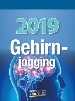 Gehirnjogging 2019 von Korsch Verlag