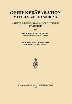Gehirnpräparation Mittels Zerfaserung von Hultkrantz,  Johan Wilh