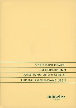 Gehörbildung von Hempel,  Christoph