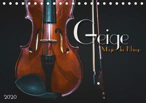 Geige – Magie der Klänge (Tischkalender 2020 DIN A5 quer) von Bleicher,  Renate