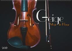 Geige – Magie der Klänge (Wandkalender 2019 DIN A2 quer) von Bleicher,  Renate