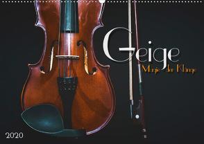 Geige – Magie der Klänge (Wandkalender 2020 DIN A2 quer) von Bleicher,  Renate