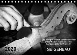 Geigenbau (Tischkalender 2020 DIN A5 quer) von Schönenbröcher,  Walter