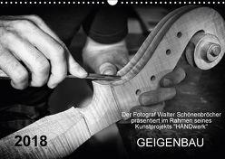 Geigenbau (Wandkalender 2018 DIN A3 quer) von Schönenbröcher,  Walter