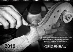 Geigenbau (Wandkalender 2019 DIN A2 quer) von Schönenbröcher,  Walter