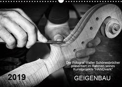 Geigenbau (Wandkalender 2019 DIN A3 quer) von Schönenbröcher,  Walter