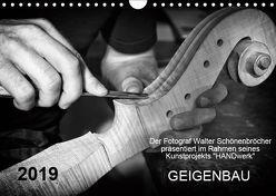 Geigenbau (Wandkalender 2019 DIN A4 quer)
