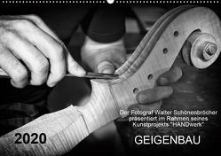 Geigenbau (Wandkalender 2020 DIN A2 quer) von Schönenbröcher,  Walter