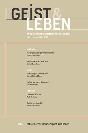 Geist & Leben 1/2019 von Benke,  Christoph