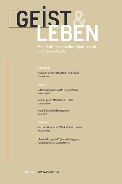 Geist & Leben 1/2021 von Benke,  Christoph