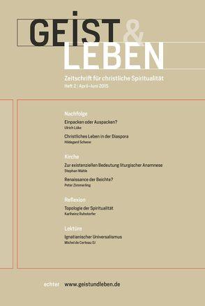 Geist & Leben 2/2015 von Benke,  Christoph