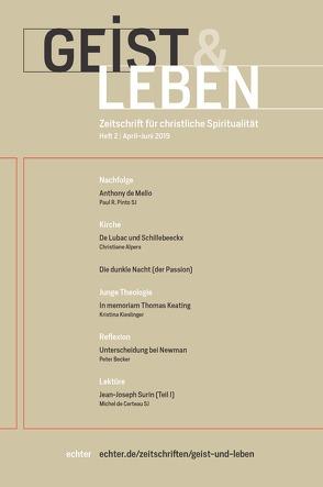 Geist & Leben 2/2019 von Benke,  Christoph
