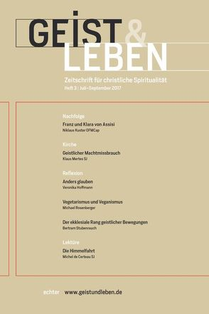 Geist & Leben 3/2017 von Benke,  Christoph