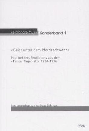 Geist unter dem Pferdeschwanz von Eichhorn,  Andreas