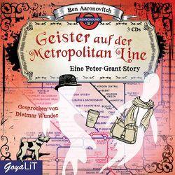 Geister auf der Metropolitan Line von Aaronovitch,  Ben, Wunder,  Dietmar