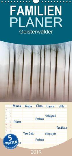 Geisterwälder – Familienplaner hoch (Wandkalender 2019 , 21 cm x 45 cm, hoch) von duMont,  Isabelle