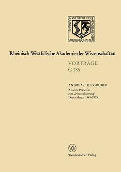Geisteswissenschaften von Hillgruber,  Andreas
