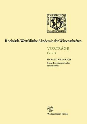 Geisteswissenschaften von Weinrich,  Harald