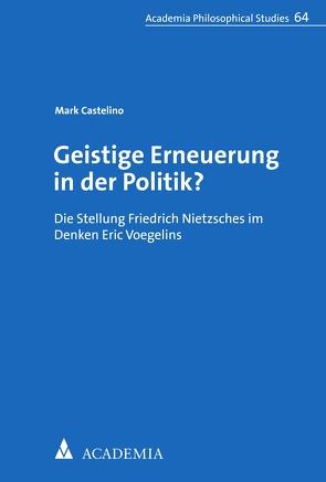 Geistige Erneuerung in der Politik? von Castelino,  Mark
