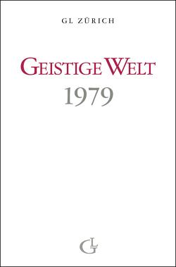 Geistige Welt 1979 von Brunner,  Beatrice
