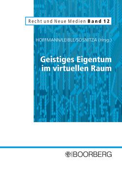 Geistiges Eigentum im virtuellen Raum von Hoffmann,  Mathis, Leible,  Stefan, Sosnitza,  Olaf