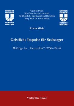 Geistliche Impulse für Seelsorger von Möde,  Erwin