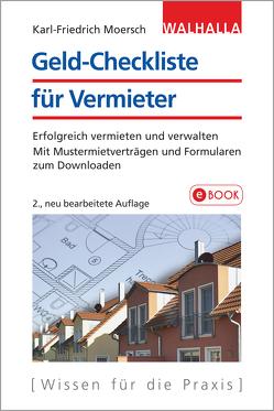 Geld-Checkliste für Vermieter von Moersch,  Karl-Friedrich