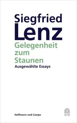 Gelegenheit zum Staunen von Detering,  Heinrich, Lenz,  Siegfried
