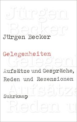 Gelegenheiten von Becker Jürgen, Ewenz,  Gabriele