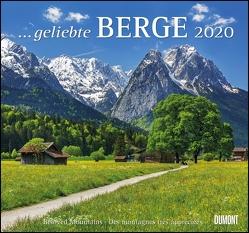 … geliebte Berge 2020 – DuMont Wandkalender – mit den wichtigsten Feiertagen – Format 38,0 x 35,5 cm von DUMONT Kalenderverlag, Fotografen,  verschiedenen