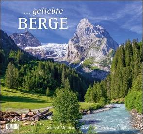 … geliebte Berge 2022 – DUMONT Wandkalender – mit den wichtigsten Feiertagen – Format 38,0 x 35,5 cm