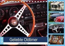 Geliebte Oldtimer, ganz nah dran (Tischkalender 2018 DIN A5 quer) von Huschka,  Klaus-Peter