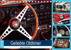 Geliebte Oldtimer, ganz nah dran (Tischkalender 2019 DIN A5 quer) von Huschka,  Klaus-Peter