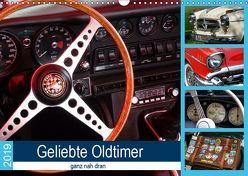Geliebte Oldtimer, ganz nah dran (Wandkalender 2019 DIN A3 quer) von Huschka,  Klaus-Peter