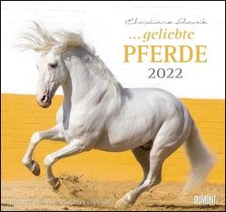 … geliebte Pferde 2022 – DUMONT-Wandkalender – Format 38,0 x 35,5 cm von Slawik,  Christiane